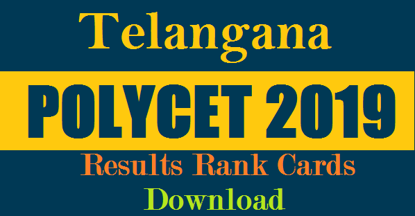 Tealngana Polytechnic Entrance Test 2019 Results-Rank cards TS POLYET 2019 Results The State Board of  Bechnical Education and Training,Telangana State, SBTET Hyderabad will conducted Polytechnic common Entrance Test  POLYCET CEEP 2019.   Candidates seeking admission in to all Diploma courses in Engineering/Technology offered at polytechnics/instutions in Telangana State for the academic year 2019-2020.telangana-ts-polycet-entrance-exam-results-rank-cards-download