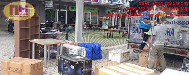 Dịch vụ chuyển nhà trọn gói từ Sài Gòn đi ra Hải Phòng giá rẻ