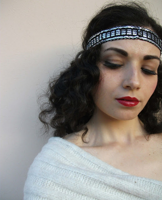 Retro Hollywood diva makeup look (Golden Era of Hollywood, the Great Gatsby inspired)