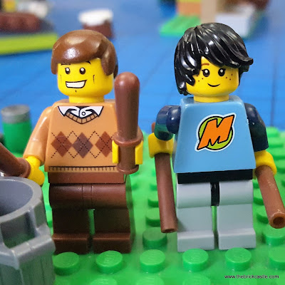 LEGO Dave Clarke Of the Dave Clarke 5 and young Mickey Dolenz from the Monkees