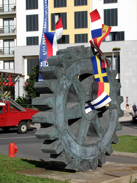 wheel of the Rotary International