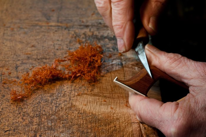 The Bow in Process, the workshop of Charles Espey: CELLO BOW