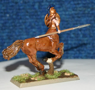 Wargames Factory amazon Centaur conversion - right hand view