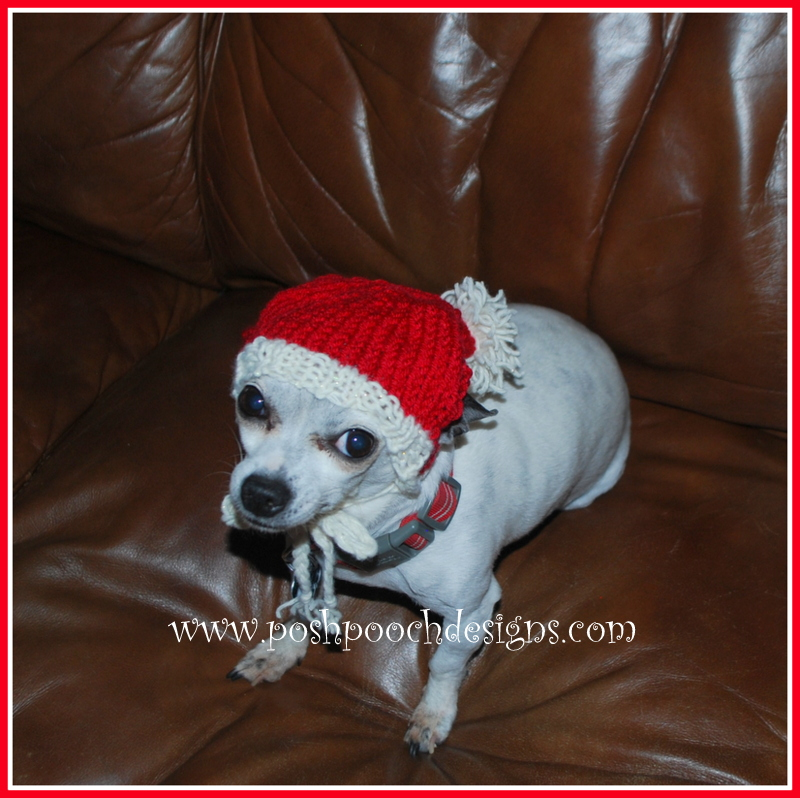 Posh Pooch Designs Dog Clothes Christmas Stocking Dog Hat Knitting Best Dog Hat Knitting Pattern