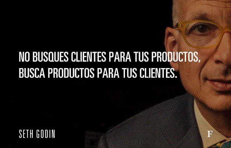 Busca productos para tus clientes - Seth Godin