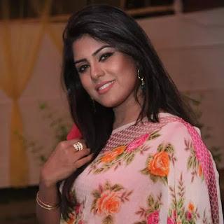 Shanta Jahan In Saree