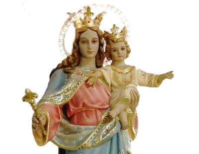 imagem de Nossa Senhora Auxiliadora