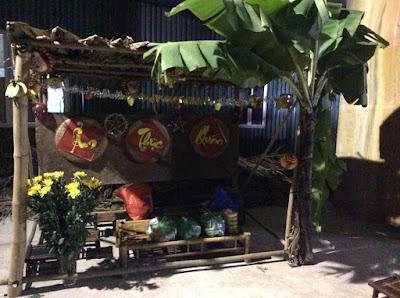 Cho thuê trang thiết bị làm chợ quê, hội làng, hội chợ xuân