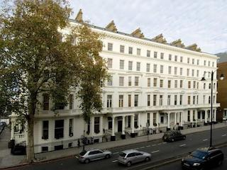 The Fraser Suites, Cromwell Road, London, once the home of Pauline Boty