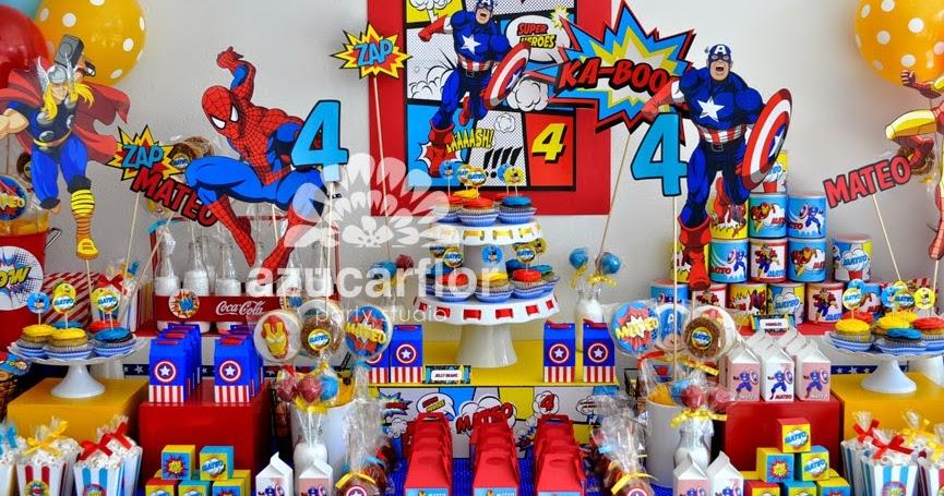 Como Decorar Una Fiesta De Superheroes