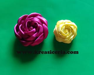 Ide Kreatif Membuat Mawar dari Kain Satin