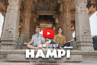 Hampi india world travel arkadij die wegsucher youtuber WELTREISE.TV