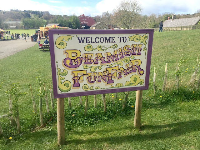 Beamish fun fair