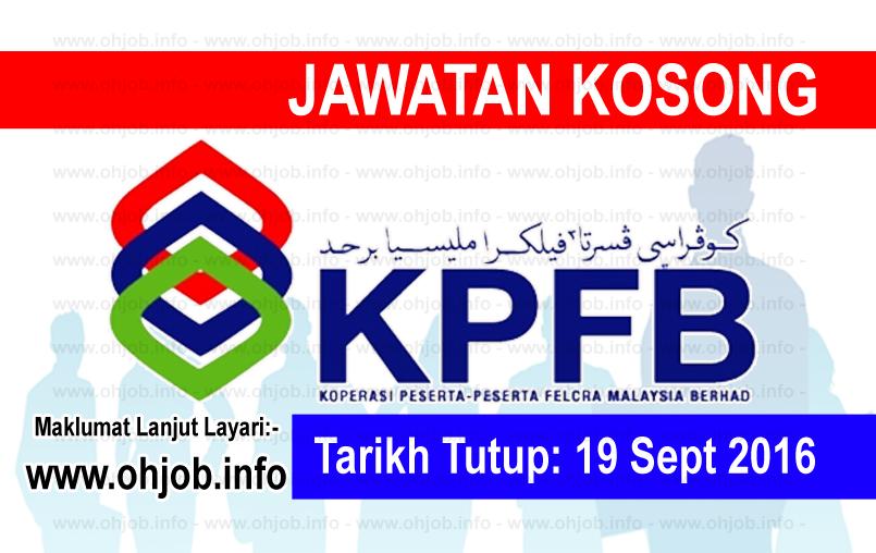 Jawatan Kerja Kosong Koperasi FELCRA logo www.ohjob.info september 2016