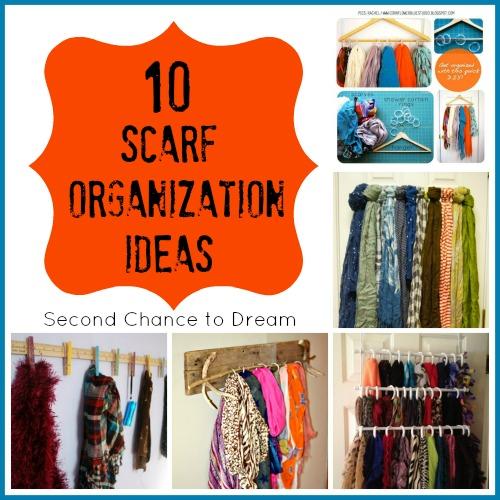 10 Scarf Organization Ideas + 15 Ways to Wear Them