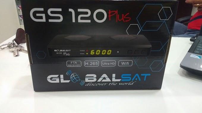 GLOBALSAT GS 120 PLUS NOVA ATUALIZAÇÃO V1.39 - 22/10/2019