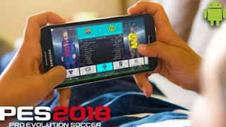 Pro Evolution Soccer 2018 APK Data Obb - Android Game