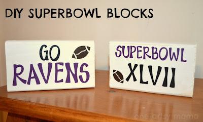 Super Bowl Blocks, Baltimore Ravens, Superbowl Champions