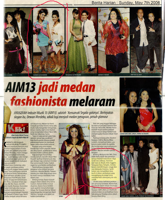 aim13 newspaper fashion
