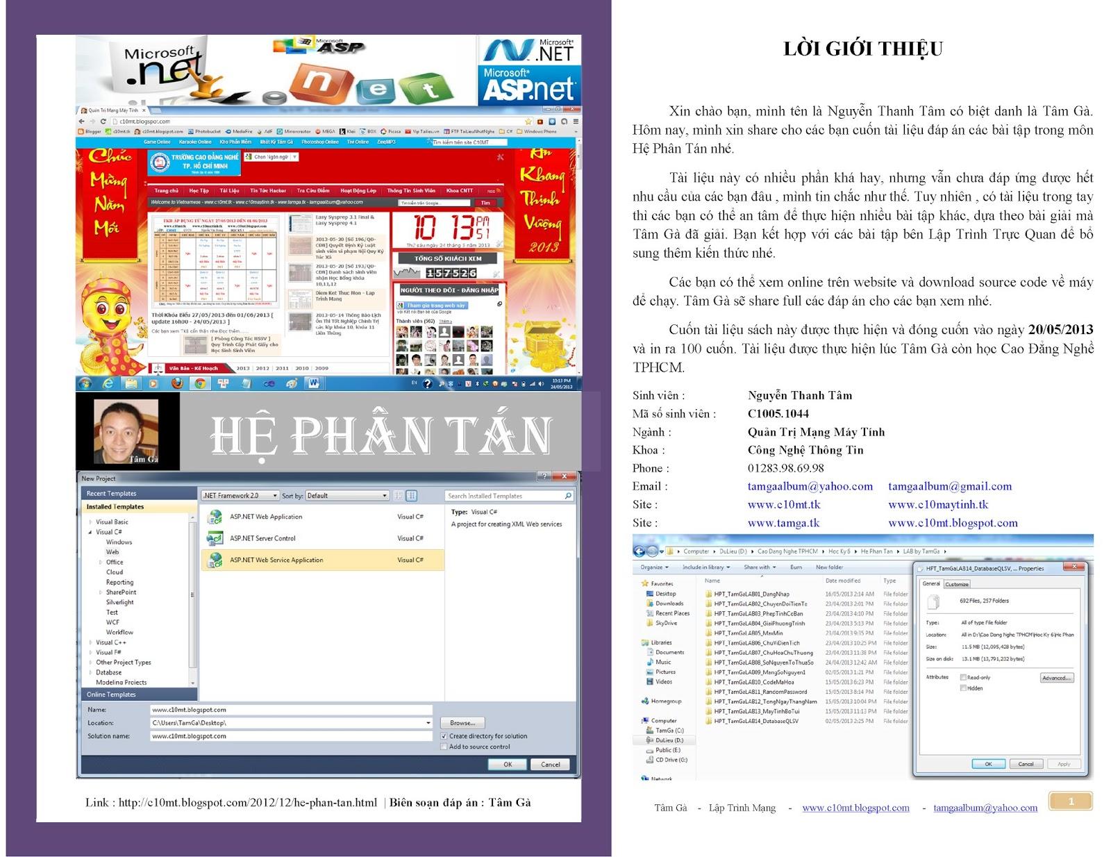 Hệ Phân Tán [ Web Service , ASP.Net , C# ]