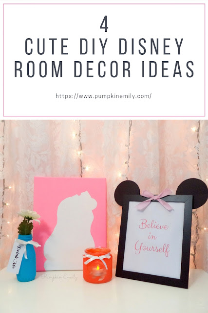 4 Cute DIY Disney Room Decor Ideas