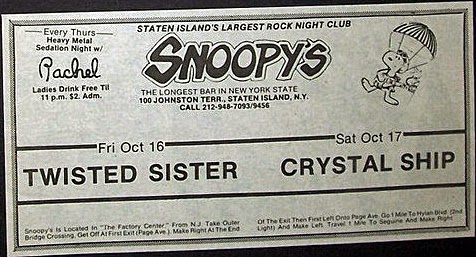 Snoopy's rock club band line up