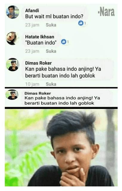 Seorang anak menganggap Mobile Legends adalah game buatan Indonesia lantaran game tersebut menggunakan bahasa Indonesia