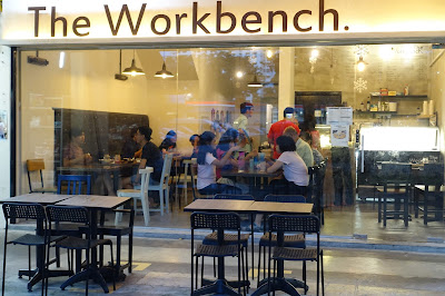 Food Tasting @ The Workbench Bistro, a dessert cafe in Ang Mo Kio