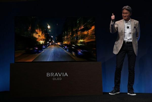 El nuevo televisor de Sony reproducirá sonido por la pantalla