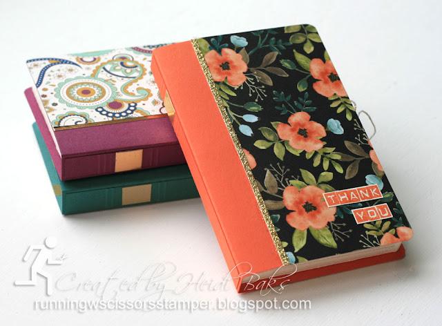 stampin' up shadow book box
