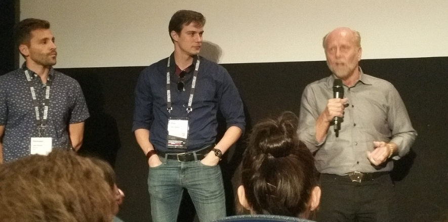 DEALT cast & crew at IFFBoston 2017