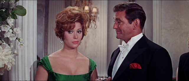 Jill St. John and Rod Taylor in The Liquidator (1965)