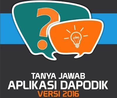 gambar Tanya Jawab Episode 75-95 Seputar Dapodik Versi 2016