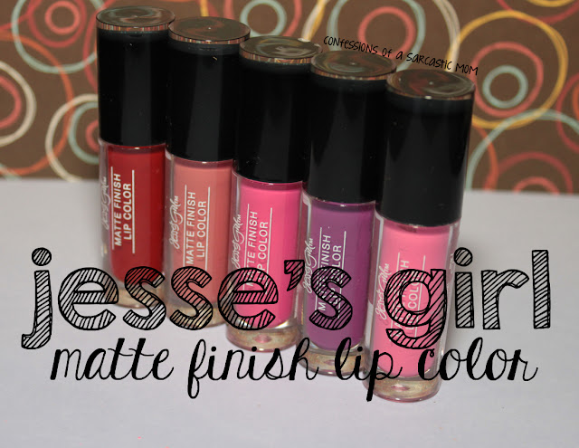 Jesse's Girl Matte Finish Lip Color