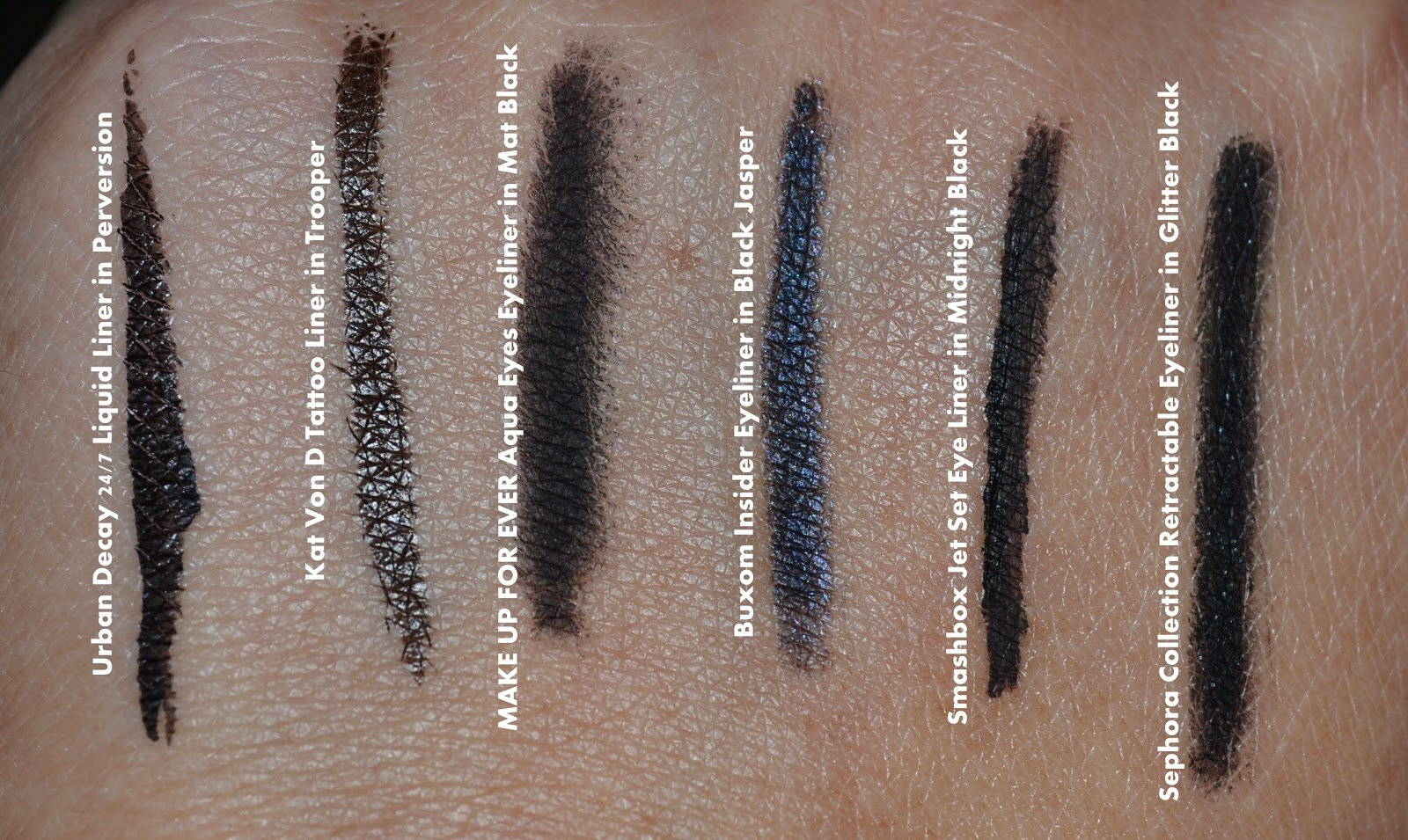 Aquaheart: Sephora Favorites Draw The Line Eyeliner Sampler ...