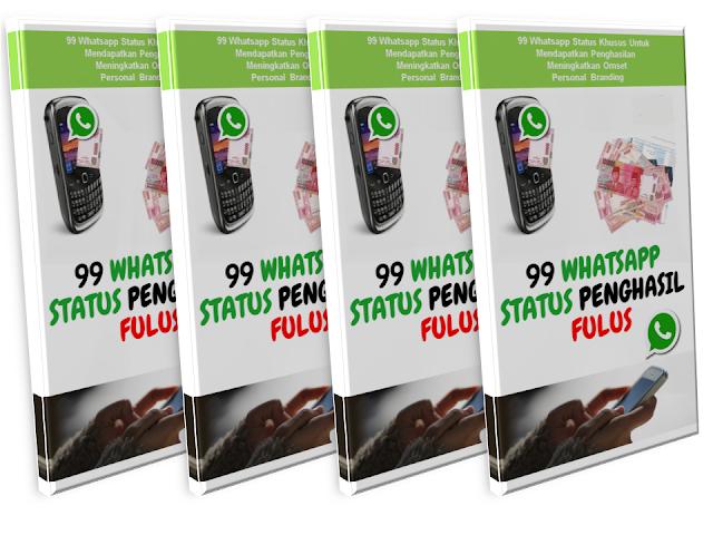 Menjadikan WhatsApp Status Anda Sebagai Penghasil Fulus