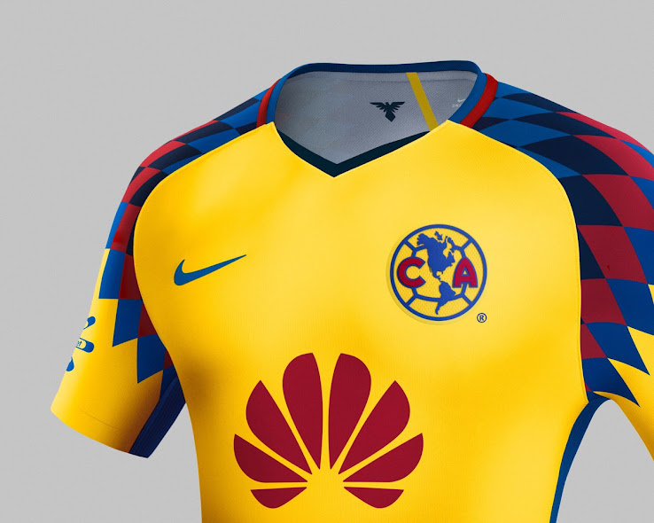 outlet store b71df 6185b Stunning Nike Club America 2018 Third Kit Released - Footy ...