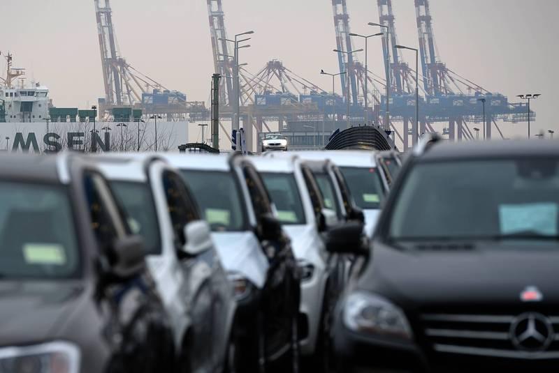 Статистика: продажа машин в Европе