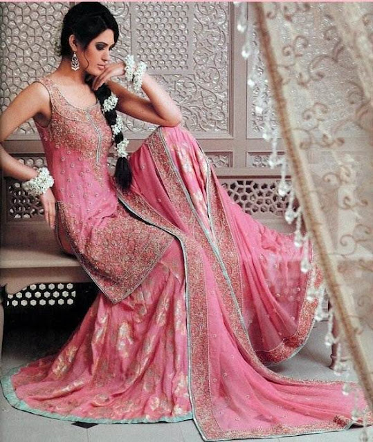 Pink Pakistani Bridal Wedding Dresses