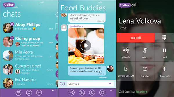 Viber for Windows Phone (4.4)