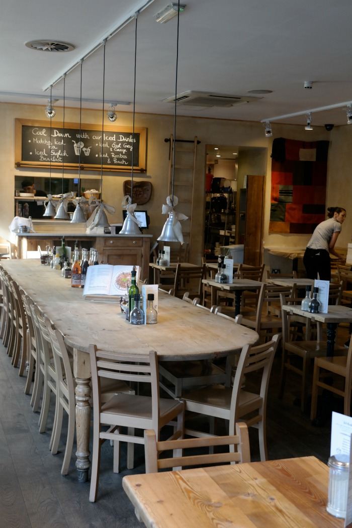 Kahvila Lontoossa