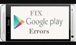 fix google play errors