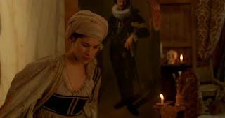 una scena del film Artemisia passione estrema, dedicato a Artemisia Gentileschi