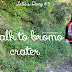 I walk to Bromo Crater