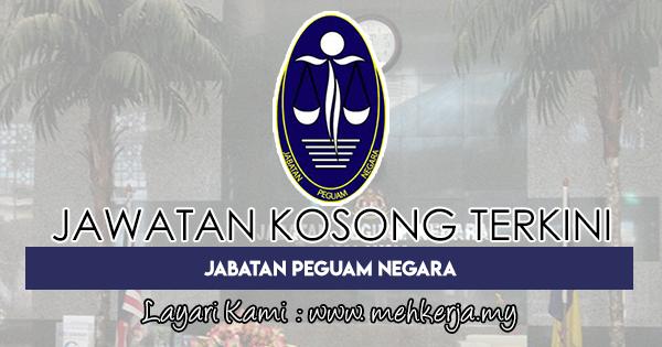 Jawatan Kosong Terkini di Jabatan Peguam Negara