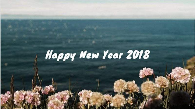 Happy New Year 2018 Flower Images
