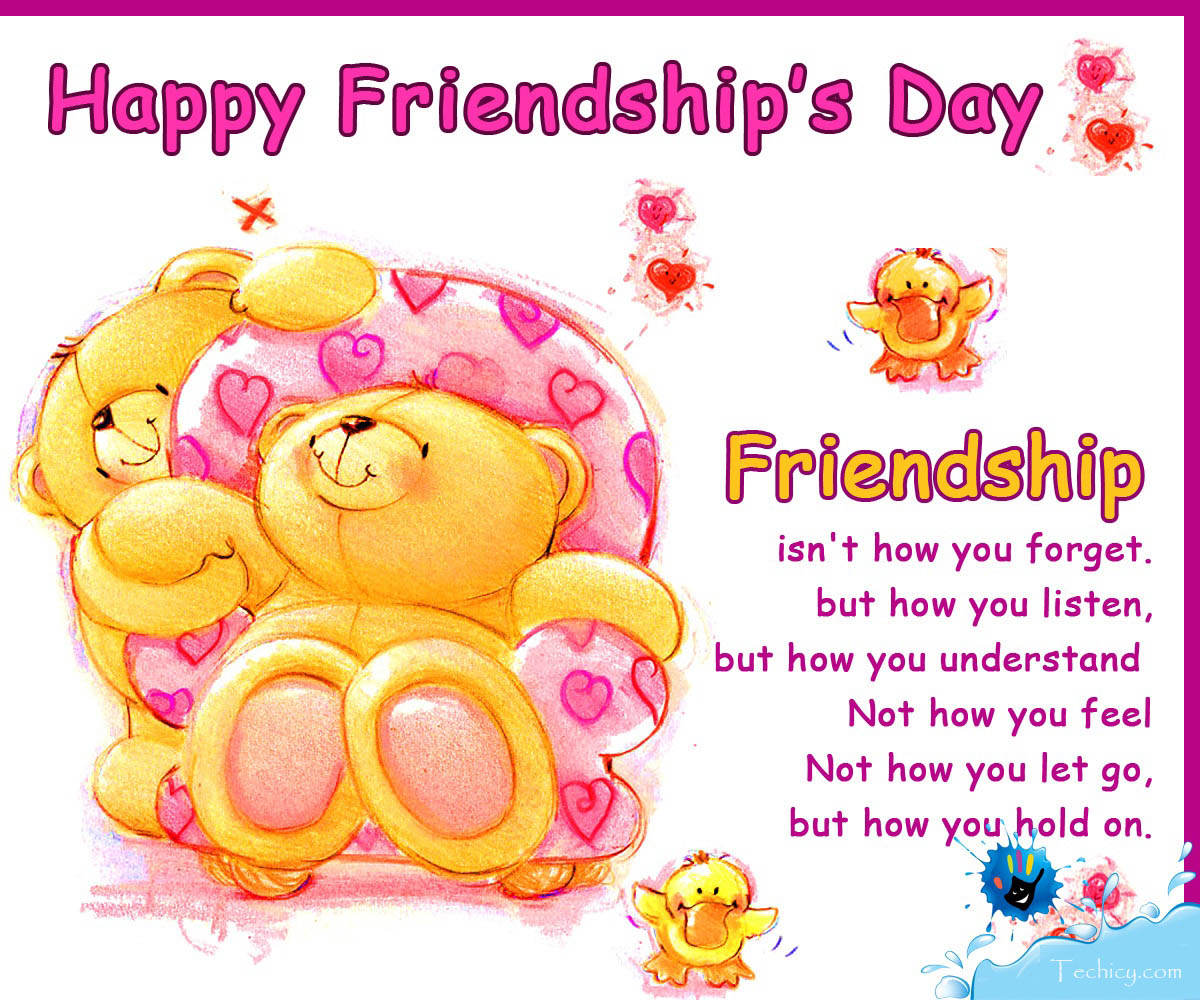 {49 Best} Exclusive Friendship Day 2017 Greetings, Friendship Day E Cards ~ 2...