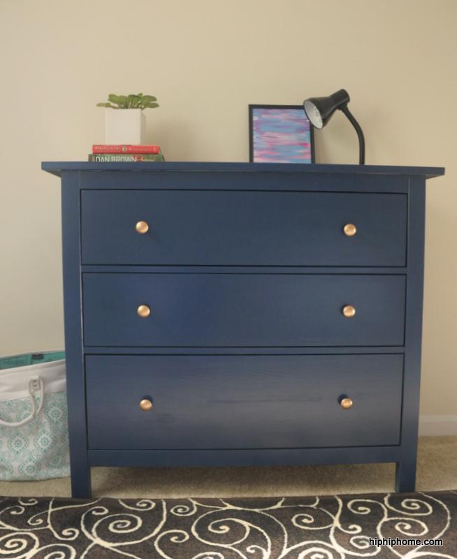 Ikea Hemnes Dresser Hip Home, How To Paint Ikea Black Brown Furniture