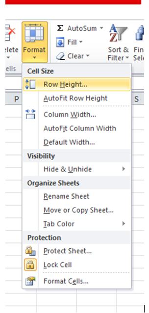 Cara Membuat Ukuran Kolom Sama Di Excel : membuat, ukuran, kolom, excel, Cepat, Mengubah, Ukuran, Baris, Kolom, Office, Excel, AneIqbal