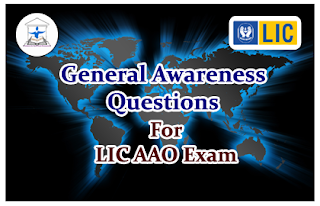 Important General Awareness Questions for LIC AAO 2016 Set-26